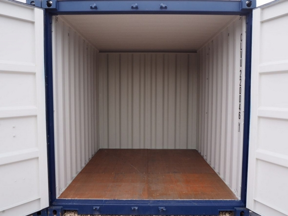 beacon storage stafford 10ft shipping container open
