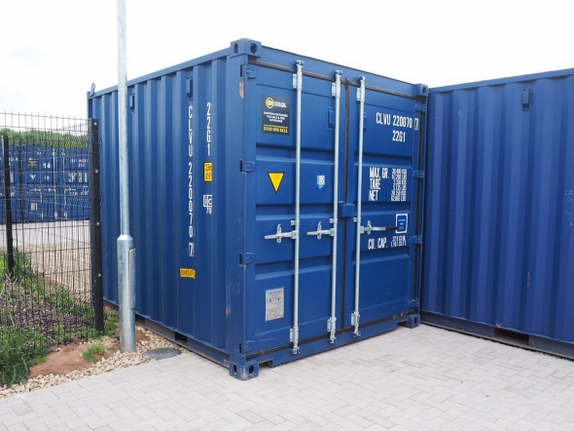 beacon storage stafford 10ft shipping container